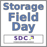Storage Field Day Exclusive at Storage Developer Conference